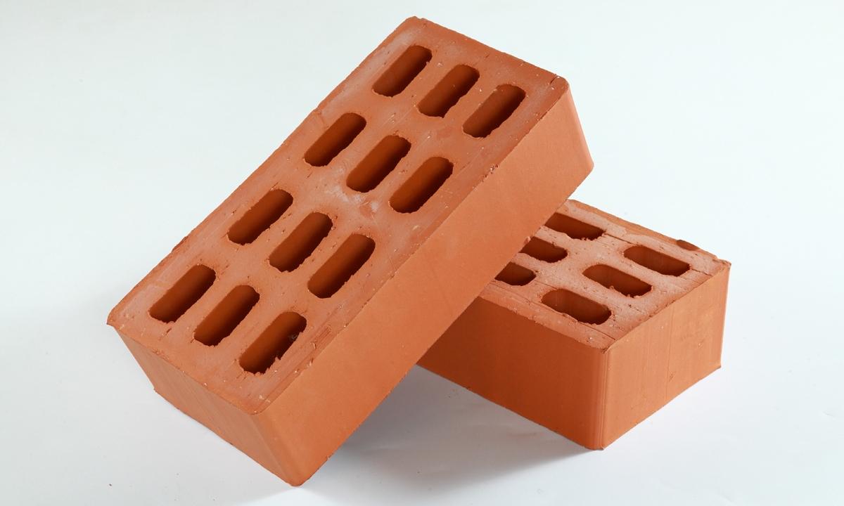 Кирпич керамический пустотелый
